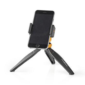 Tripod | Max 1.5 kg | 16 cm | Black / Orange