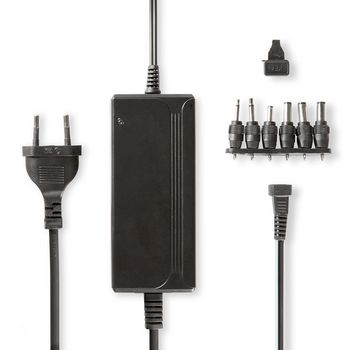 Universal AC Power Adapter | 5/6/7.5/9/12/13.5/15 VDC | 2.4 A - 3.0 A
