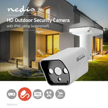 CCTV Security Camera | Bullet | HD | For use with analogue HD DVR