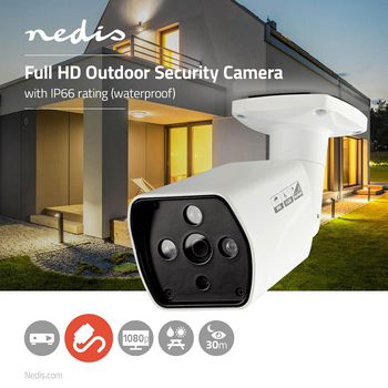 CCTV Security Camera | Bullet | Full HD | For use with analogue HD DVR