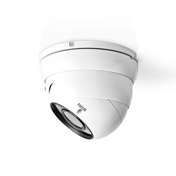 CCTV Security Camera | Dome | Full HD | For use with analogue HD DVR