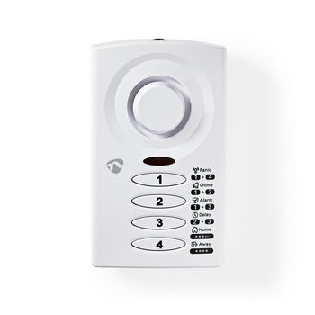 Keypad Operated Slim Door / Window Alarm With Magnetic Sensor | 3 Alarm Modes