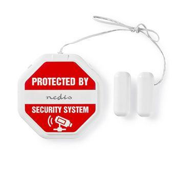 Alarma Compacta de Detección de Rotura de Cristal para Puertas/Ventanas | Sirena Integrada