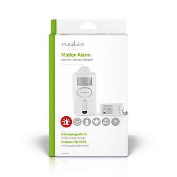 Security Motion Alarm | Remote Alarm / Chime | Remote On/Off