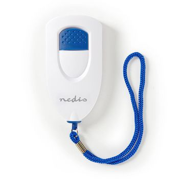 Personal Safety Alarm | Lightweight | ≥ 85dB Alarm | White