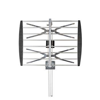 TV-Antenne voor Buiten | Max. 8 dB Versterking | UHF: 470 - 694 MHz | 2 Componenten