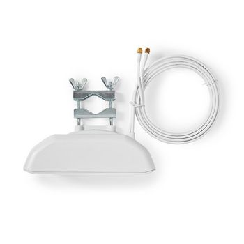3G / 4G / 5G Antenna | GSM / 3G / 4G / 5G | Indoor and Outdoor | 698-5000 MHz | Gain: 6 dB | White