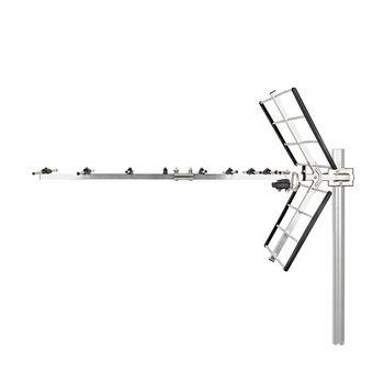 Outdoor TV Antenna   Max. 12 dB Gain   UHF: 470 - 790 MHz