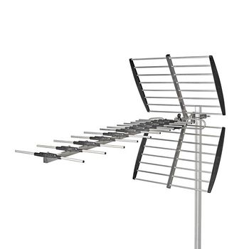 Outdoor TV Antenna | Max. 14 dB Gain | UHF: 470 - 790 MHz