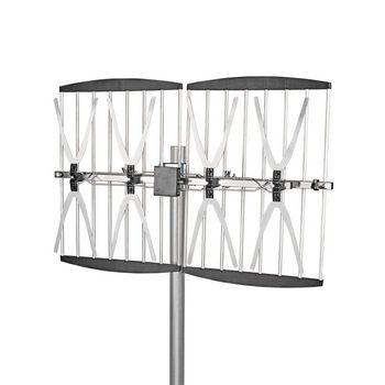 Outdoor TV Antenna   Max. 14 dB Gain   UHF: 470 - 790 MHz