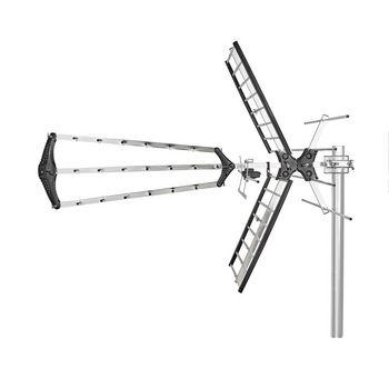Outdoor TV Antenna | Max. 14 dB Gain | VHF: 170 - 230 MHz | UHF: 470 - 790 MHz