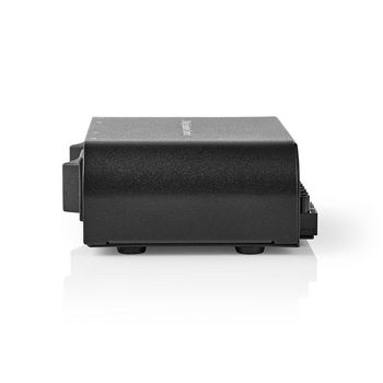 Speaker Control Box | 2-Way | Screw Clamp | Black