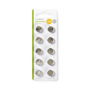 Alkaline Battery LR44 | 10 pieces | Blister card