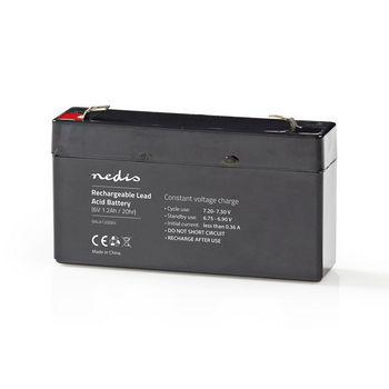 Rechargeable Lead-Acid Battery 6V | 1200 mAh | 97 x 24 x 52 mm