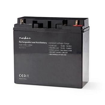 Rechargeable Lead-Acid Battery 12V | 17000 mAh | 181 x 167 x 77 mm