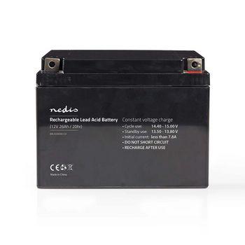 Rechargeable Lead-Acid Battery 12V   26000 mAh   167 x 177 x 126 mm
