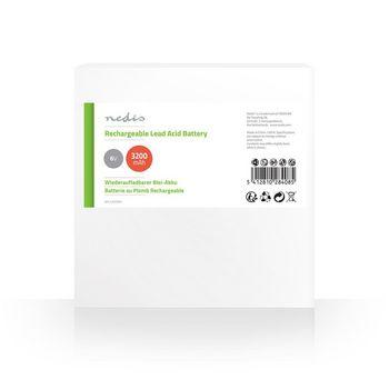 Rechargeable Lead-Acid Battery 6V | 3200 mAh | 134 x 35 x 61 mm