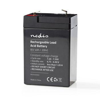 Rechargeable Lead-Acid Battery 6V | 4000 mAh | 70 x 47 x 101 mm