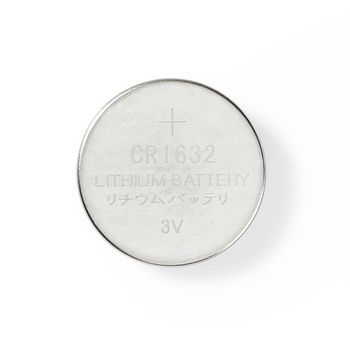 Lithium Button Cell Battery CR1632   3 V   5 pieces   Blister