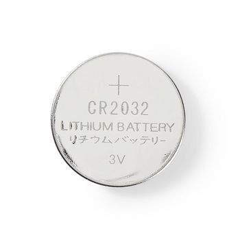 Lithium Button Cell Battery CR2032 | 3 V | 5 pieces | Blister
