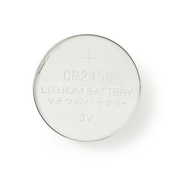Lithium Button Cell Battery CR2450 | 3 V | 5 pieces | Blister