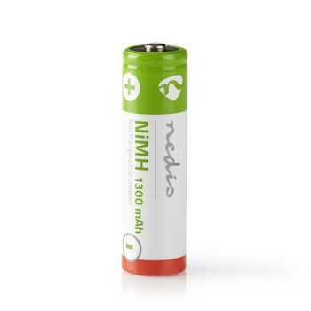 Rechargeable Ni-MH Battery AA | 1.2 V | 1300 mAh | 4 pieces | Blister
