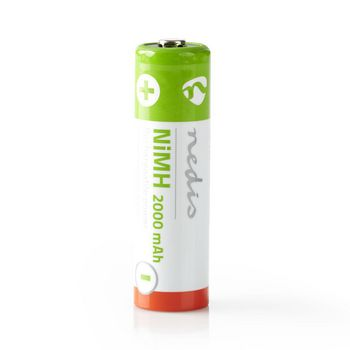 Rechargeable Ni-MH Battery AA | 1.2 V | 2000 mAh | 4 pieces | Blister