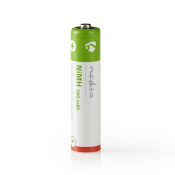 Rechargeable Ni-MH Battery AAA | 1.2 V | 700 mAh | 4 pieces | Blister