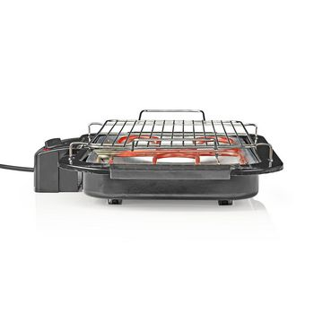 Electric Barbeque | Rectangle | 38 x 22 cm | 2000 W