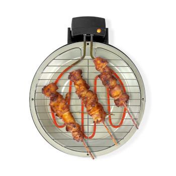 Barbecue Elettrico | Rotondo | 30 cm | 1250 Watt |
