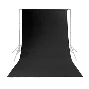 Photo Studio Backdrop | 2.95 x 2.95 m | Black