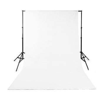 Photo Studio Backdrop | 2.95 x 2.95 m | White