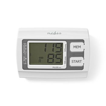Upper-Arm Blood Pressure Monitor | Large LCD | 2 x 60 Memory Storage