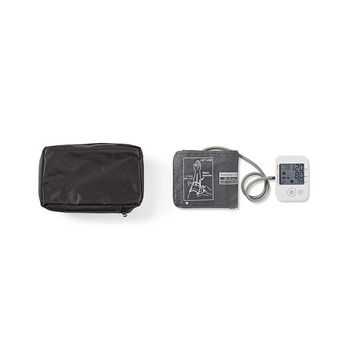Upper-Arm Blood Pressure Monitor | LCD | Time & Date | 60 Memory Storage