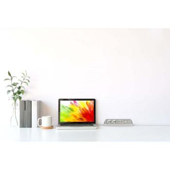estilo hoekstopcontact 4-voudig voor kantoor en keuken - wit |