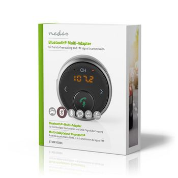Bluetooth® Multi-Adapter | Hands-Free Calling | FM | Up to 5.5 Hours Playtime | Voice Control