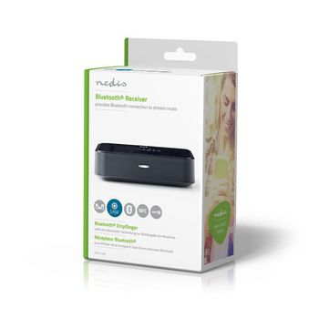 Wireless Audio Receiver | Bluetooth® | Toslink output | 3.5 mm output | Black