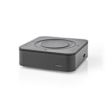 Draadloze Audiozender/-ontvanger | Bluetooth® | Toslink | zwart