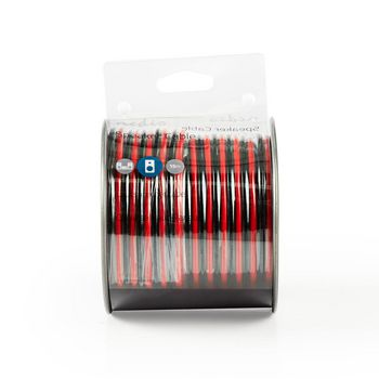 Speaker Cable | 2x 2.50 mm2 | 15.0 m | Reel | Black/Red