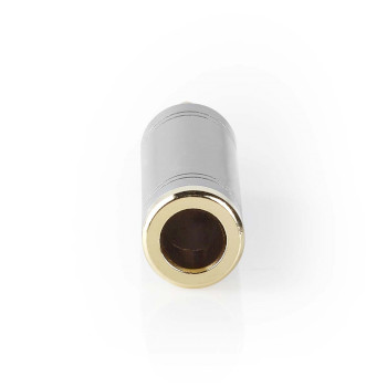 Stereo Adapter | 3.5 mm Male to 6.35 Female | Metal