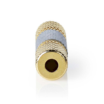 Stereo Audio Adapter | 3.5 mm Female - 3.5 mm Female | Metal