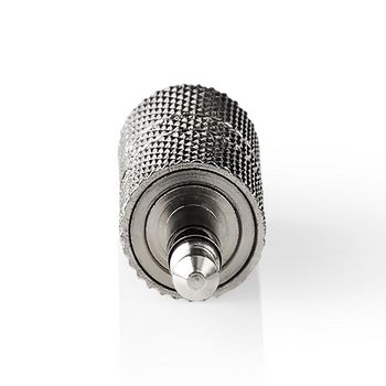 Stereo Audio Adapter | 3.5 mm Male - 3.5 mm Male | 10 Pieces | Metal