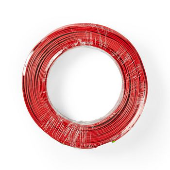 Cavo per Altoparlante   2x 0,75 mm2   100 m   Avvolgibile   Nero/Rosso
