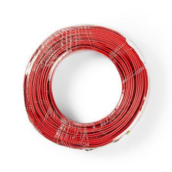 Høyttalerkabel | 2 stk. 0.75 mm2 | 50.0 m | Pakke | Svart/Rød