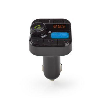 FM-zender voor in de auto | Bluetooth® | Bass boost | MicroSD-kaartopening | Handsfree bellen | Spraakbediening | 2x USB