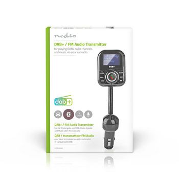Car DAB+ Receiver / FM Transmitter | Bluetooth® | microSD Card Slot | Hands-Free Calling | 2x USB