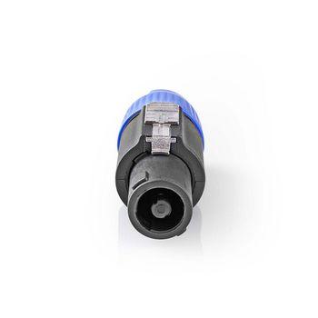Speaker Connector | Speaker 4-pin Male | 25 pieces | Black