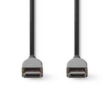 Cable DisplayPort 1.4 | AOC | DisplayPort Macho a Macho | 10,0 m | Negro