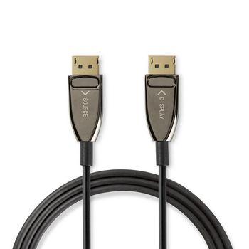 DisplayPort 1.4-Kabel | AOC | DisplayPort Male Connector - Male Connector | 10,0 m | Zwart