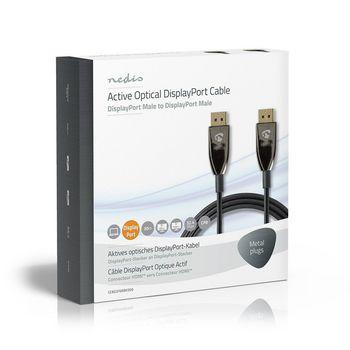 DisplayPort 1.4-kabel | AOC | DisplayPort Male - Male | 30,0 m | Zwart